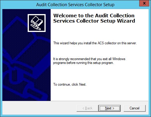 ACS Install 02