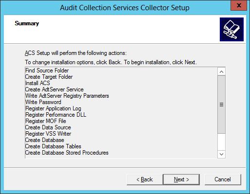 ACS Install 11