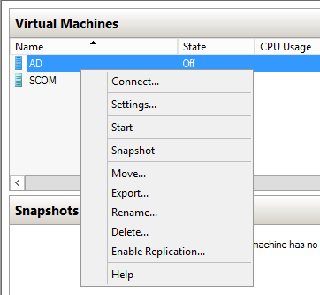 Connect To VM