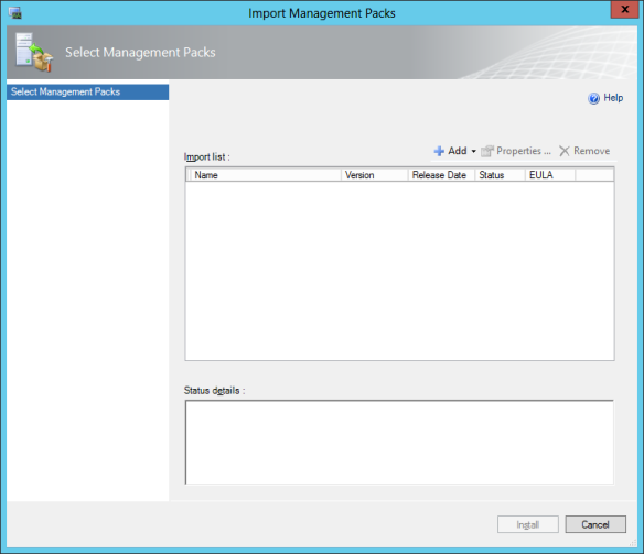 download-mp-01 SCOM 2012 SP1 in a LAB – Configuration Guide (Import Management Packs)