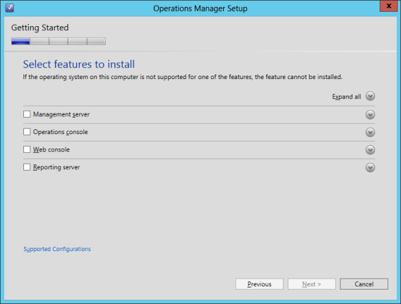 OpsMgr Console Install 02