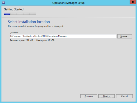 OpsMgr Console Install 03