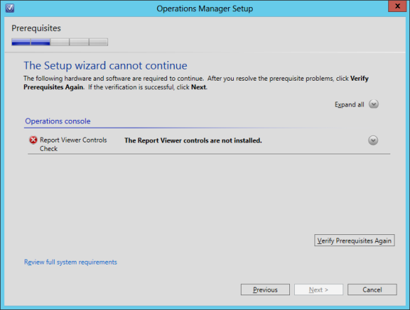 OpsMgr Console Install 04