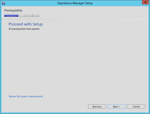 OpsMgr Console Install 05