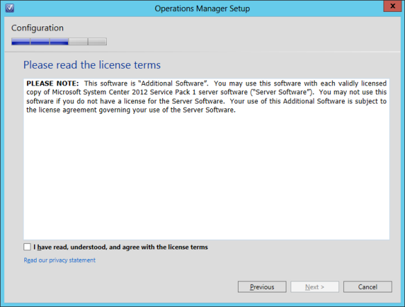 OpsMgr Console Install 06