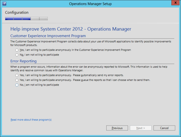 OpsMgr Console Install 07