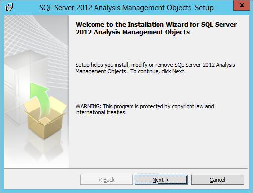SQL AS AMO Install 02