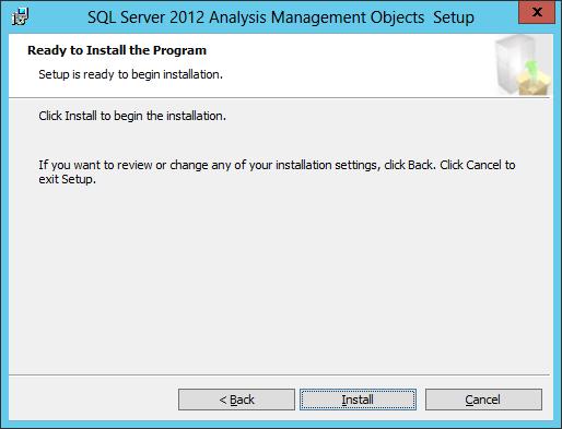 SQL AS AMO Install 04