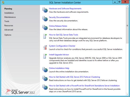 SQL Install 01