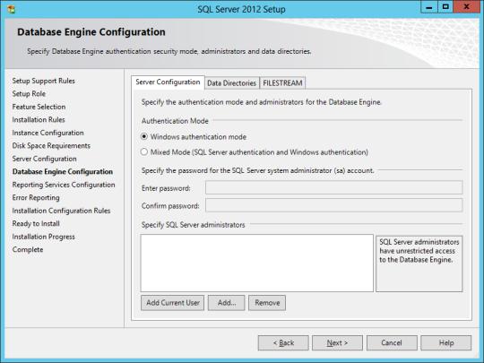 SQL Install 18