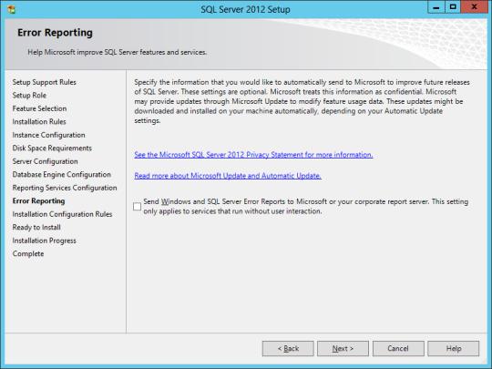 SQL Install 22