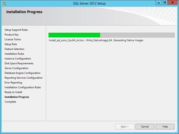 SQL Install 25