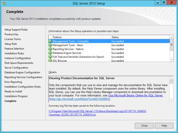 SQL Install 26