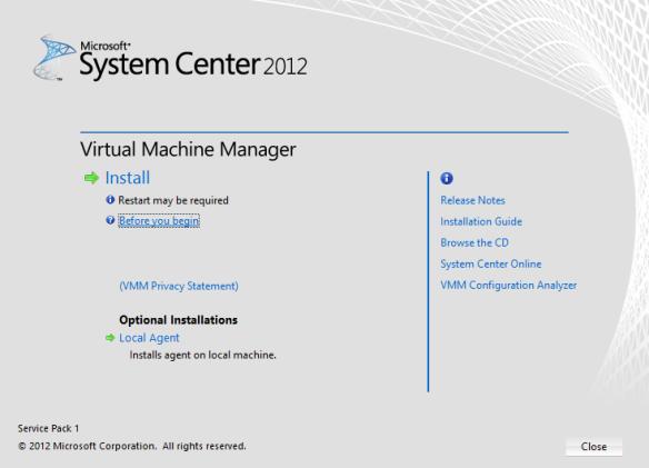 VMM Install 01