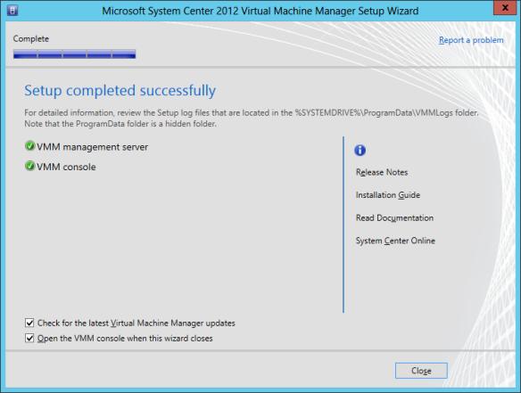 VMM Install 13