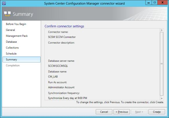 Config SCCM Conn 10