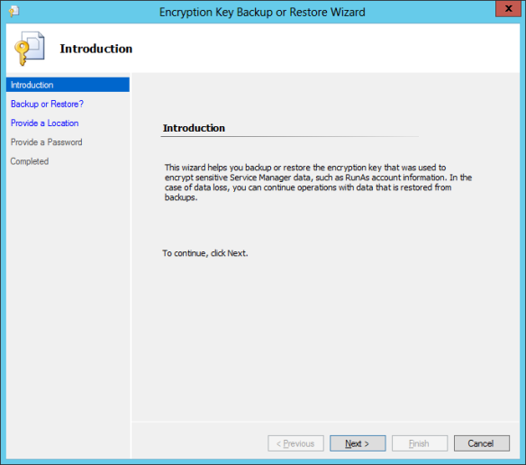 Encryption Key Backup 01
