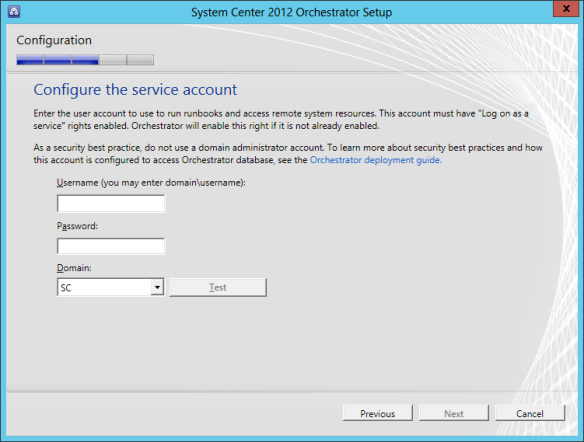 Orchestrator Install 05