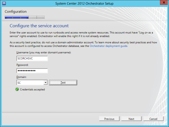 Orchestrator Install 06