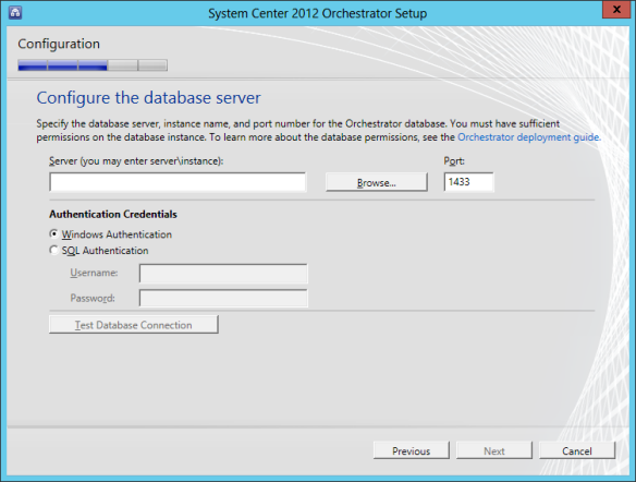 Orchestrator Install 07