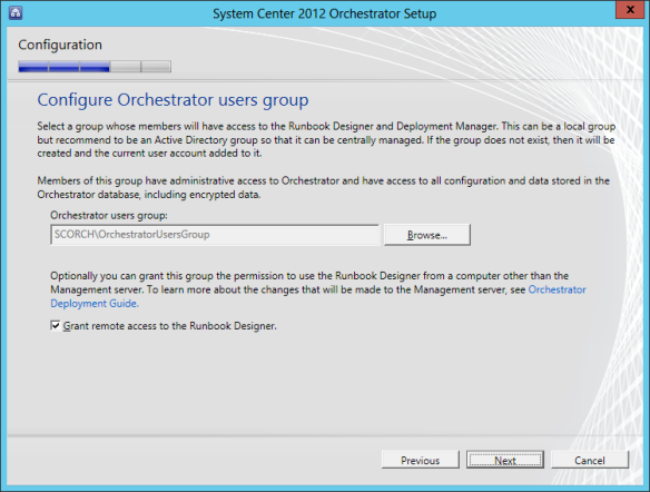 Orchestrator Install 10