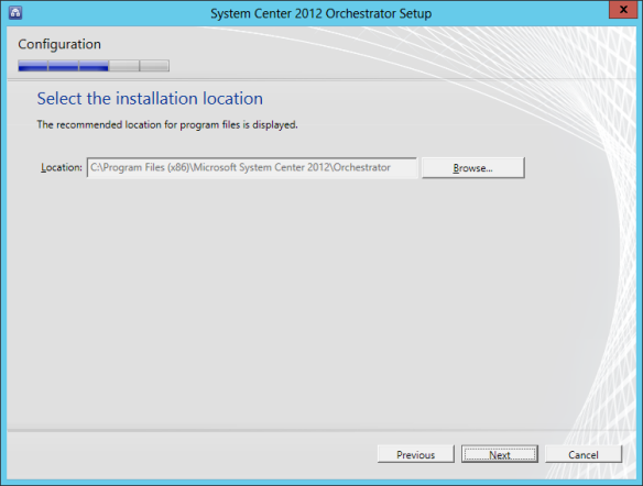 Orchestrator Install 12