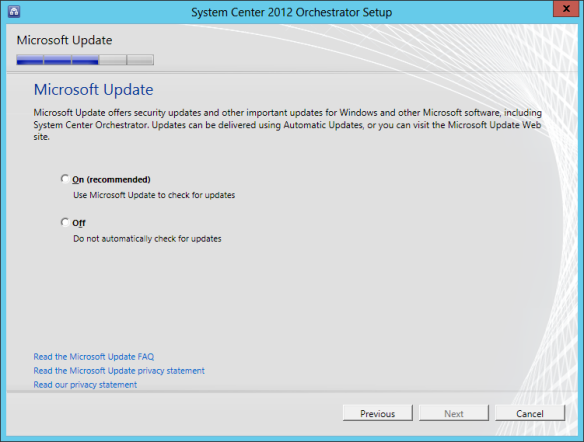 Orchestrator Install 13