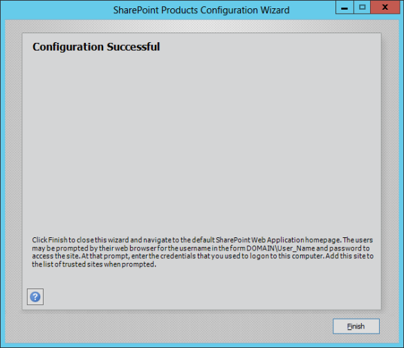 SharePoint Config Wizard 04