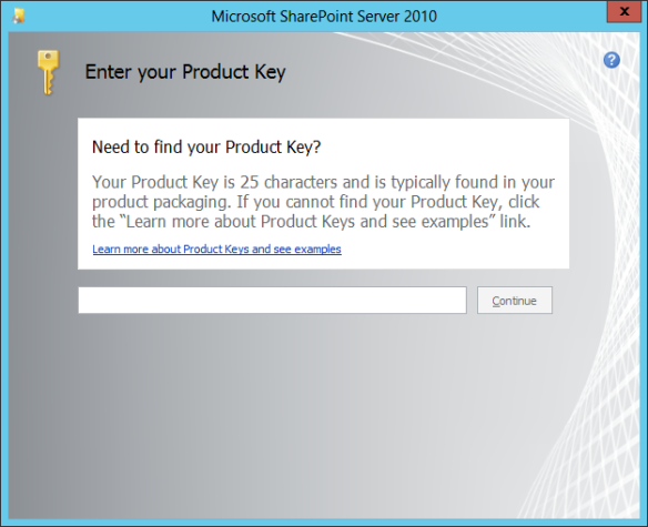 SharePoint Install 02