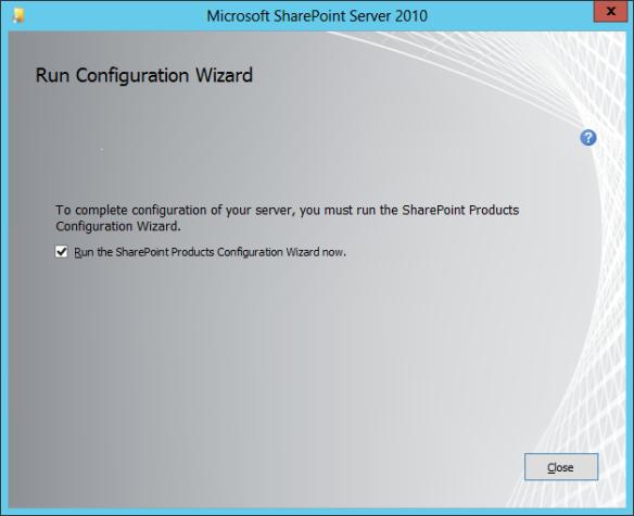 SharePoint Install 05