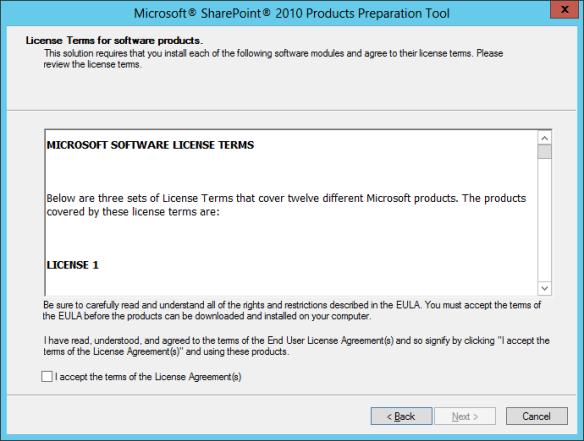 SharePoint PreReq Install 02