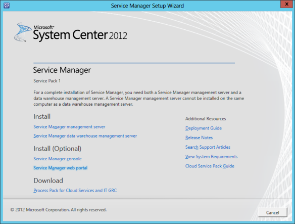 SM Web Portal Install 01