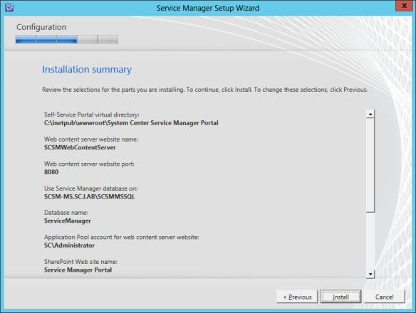 SM Web Portal Install 13