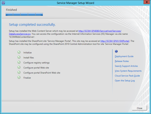 SM Web Portal Install 14