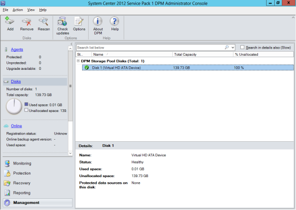 Add Disk To DPM 06