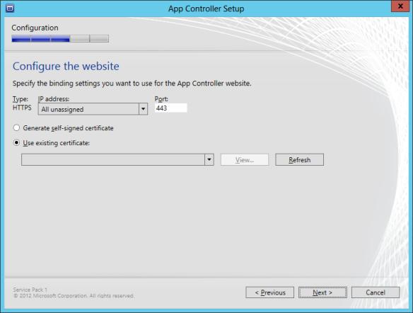 App Controller Install 08