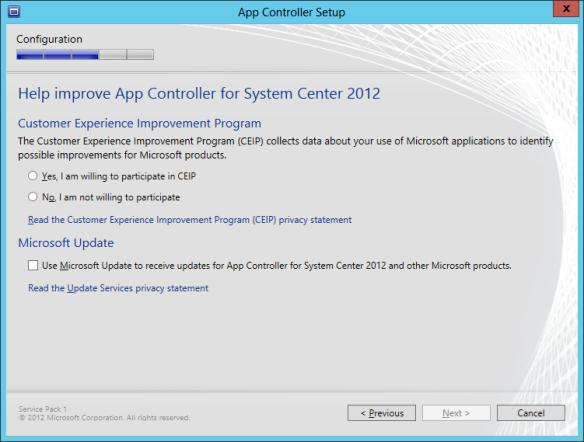 App Controller Install 10