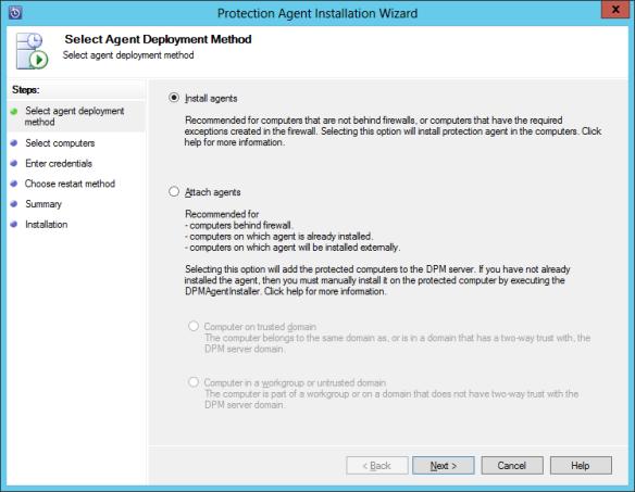 Install DPM Agent 04