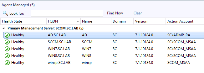SCOM Agent Grayed Out When Trying To Monitor Domain