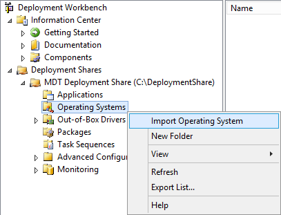 MDT Import OS 01