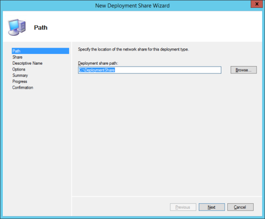 New Deploy Share Wizard 01