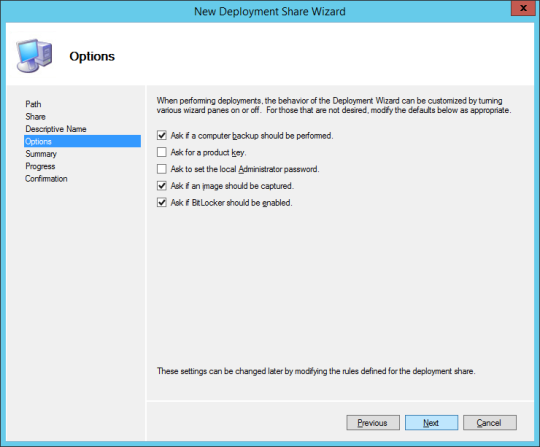 New Deploy Share Wizard 04