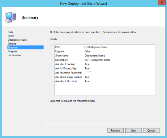 New Deploy Share Wizard 05