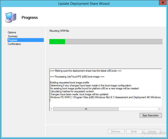 Update Deployment Share Wizard 03