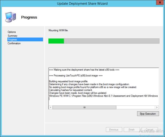 Update Deployment Share Wizard 03