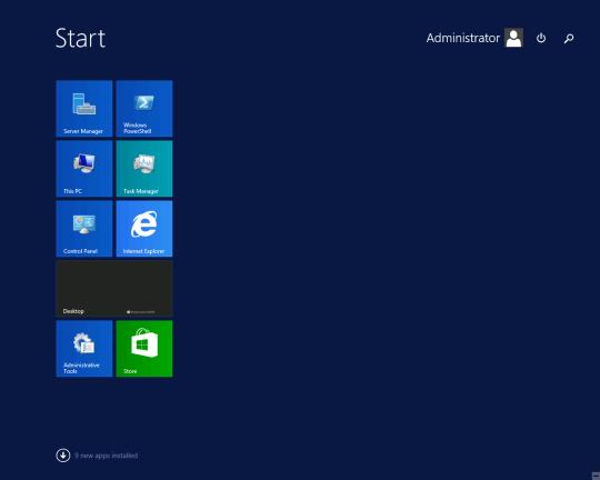W2K12R2U1 - New Apps Installed