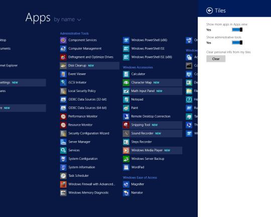 W2K12R2U1 - Tiles - More Apps On