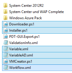 Downloaded PDT Files