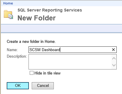 New Folder - SCSM Dashboard