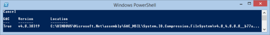 PowerShell Window - Download PDT